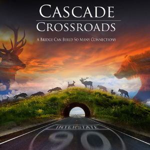 A new poster for the Cascade Crossroads documentary! Look for more info on screenings soon. Graphic: Cascade Crossroads